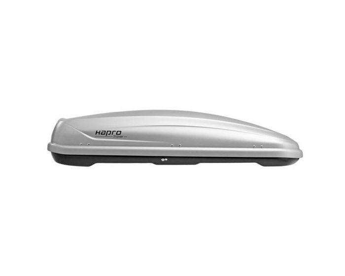 Dachbox Hapro Traxer 6.6 grau silber - 410 L Gepäckbox
