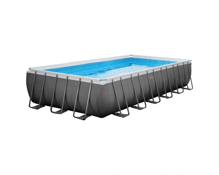 Intex Ultra Quadra Frame Pool 732 x 366 x 132 cm (Set Inkl. Sandfilteranlage)