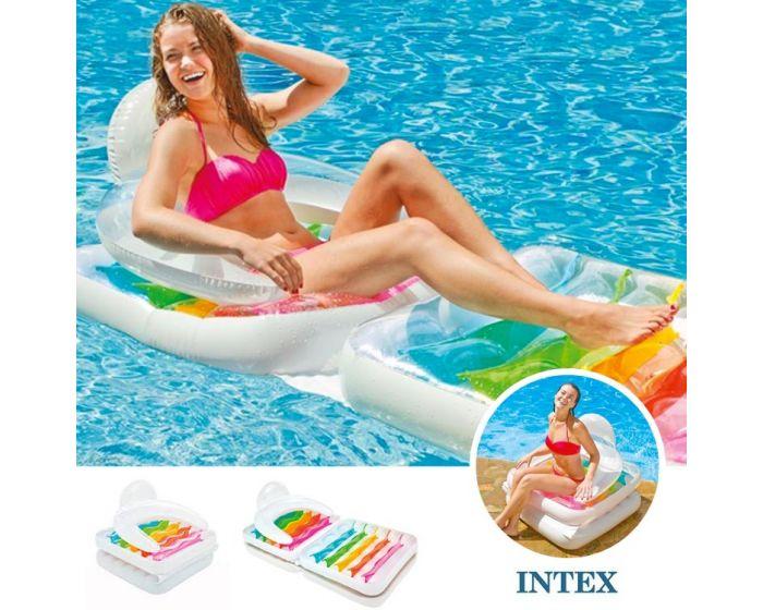 Intex Schwimmlounge und Sessel