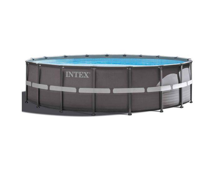 Intex Ultra Frame Pool Ø 549 cm x 132 cm (Set Inkl. Sandfilteranlage)