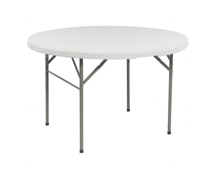 Klapptisch Partytisch Buffettisch Campingtisch Gartentisch Esstisch klappbar rund Ø 122cm