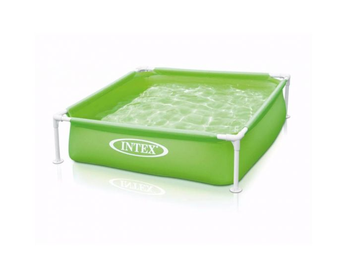 Intex Mini Frame Pool Grün 122 x 122 cm