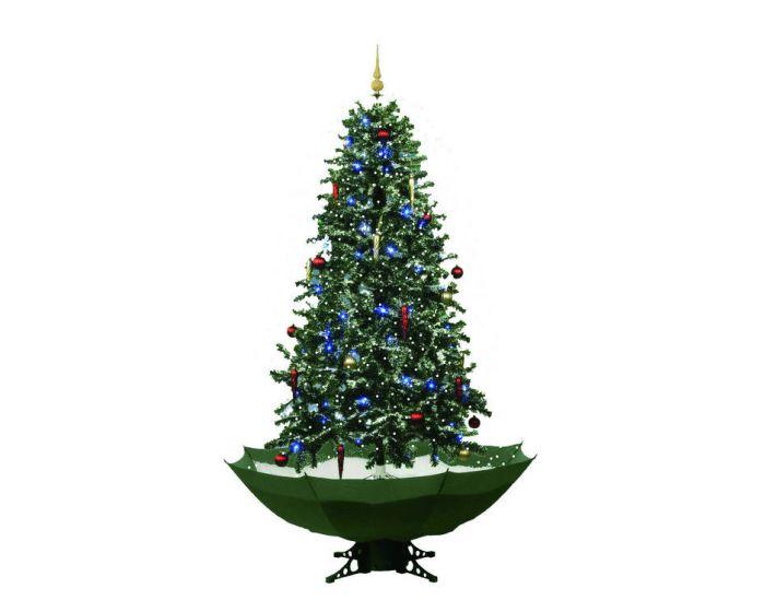 Schneiender Weihnachtsbaum Grün - 170 cm