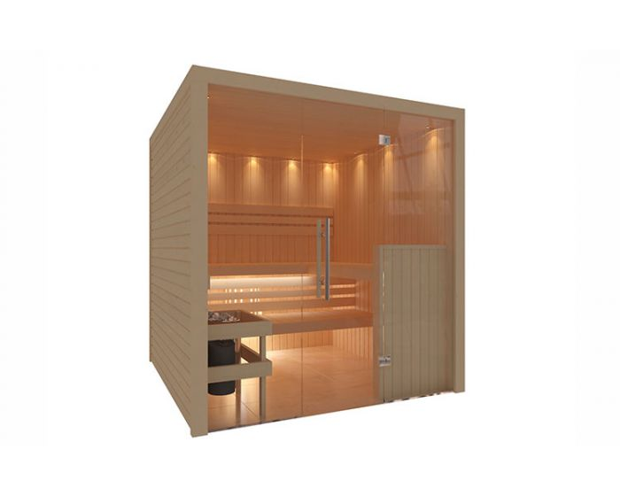 Interline Royal Sauna Set 195x196x204