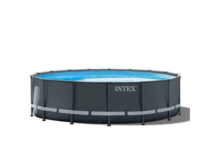 Intex Ultra XTR Frame Pool Ø 488 x 122 cm (Set Inkl. Sandfilteranlage)
