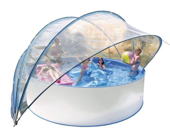 Schwimmbad Solarzelt