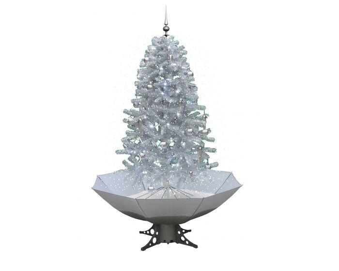Schneiender Weihnachtsbaum Weiß - 170cm