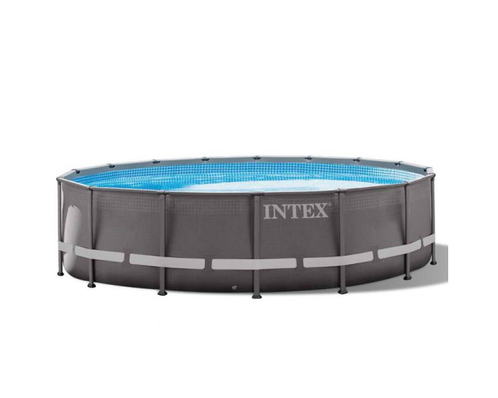 Intex Ultra Frame Pool Ø 488 x 122 cm (Set Inkl. Sandfilteranlage)