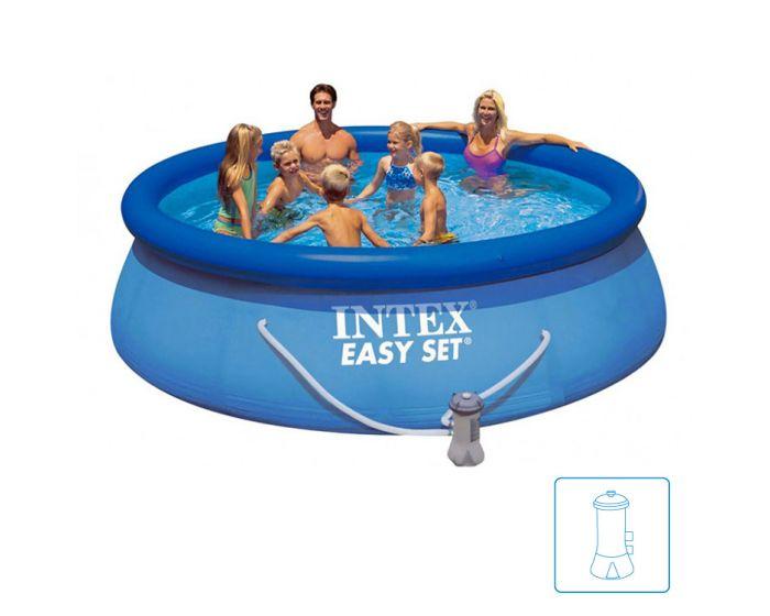 Intex Easy Set Pool Ø 366 x 91cm inkl. Filterpumpe