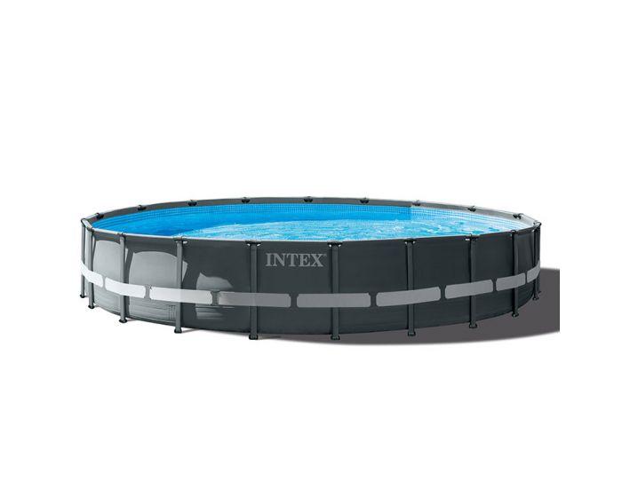 Intex Ultra XTR Frame Pool Ø 610 cm x 122 cm (Set Inkl. Sandfilteranlage)