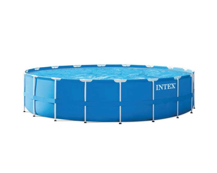 intex metal frame pool 549x122 cm. Black Bedroom Furniture Sets. Home Design Ideas
