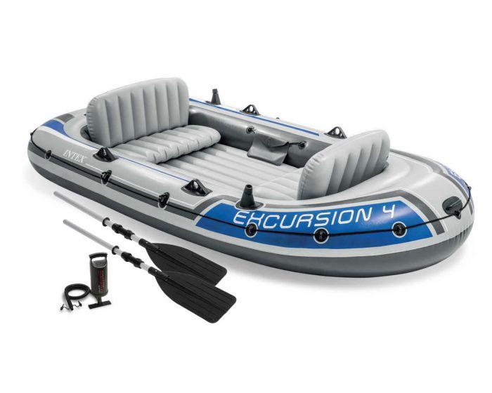 Schlauchboot Intex - Excursion 4 Set