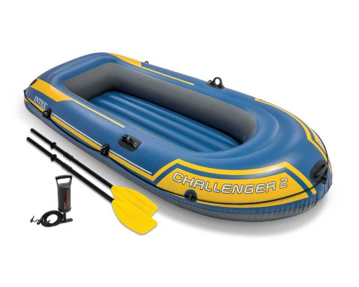 Schlauchboot Intex - Challenger 2 Set