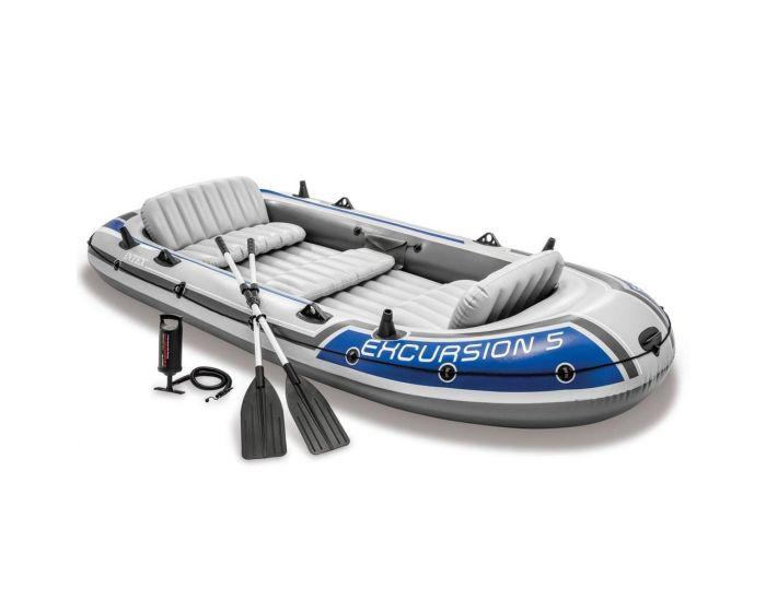Schlauchboot Intex - Excursion 5 Set