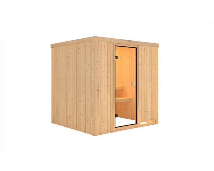 Interline Ivalo Sauna Set 196x178x198