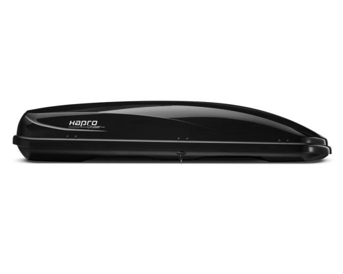 Dachbox Hapro Cruiser 10.8 schwarz glänzend - 600 L Gepäckbox