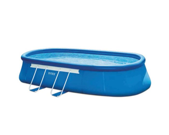 Intex Oval Frame Pool 549 x 305 cm (Set)