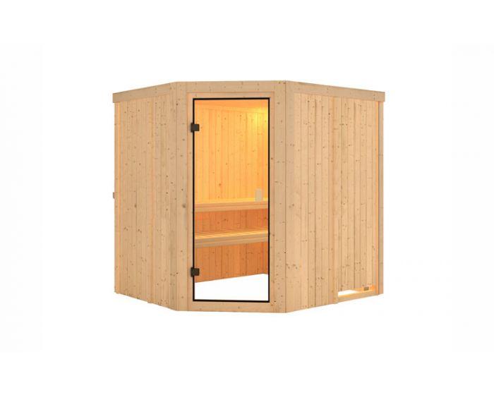 Interline Kolari Sauna Set 196x178x198