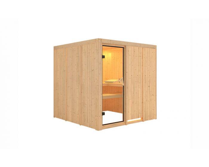 Interline Pukala Sauna Set 196x196x198