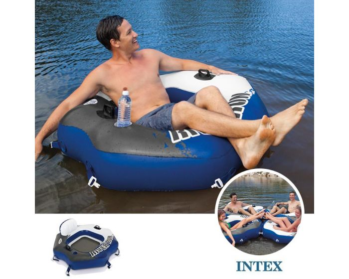 Intex Luftreifen – River Run Connect Lounge (130 x 126 cm)