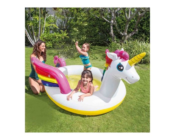 INTEX™ MysticUunicorn Spray Pool Kinder Schwimmbad | Intex Poolstore