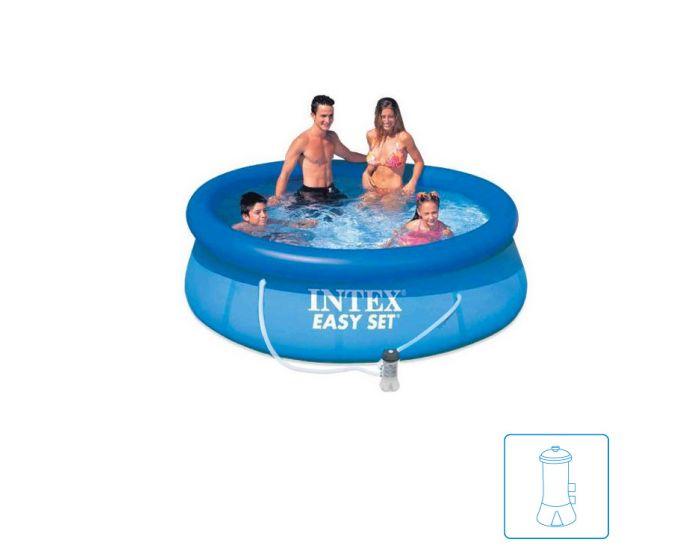 Intex Easy Set Pool Ø 244 cm inkl. Filterpumpe