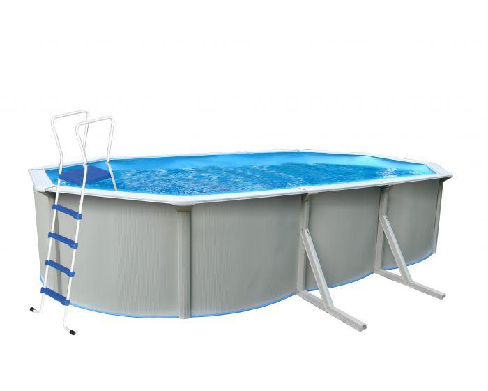 Splasher pool ovaal 610 x 360 cm