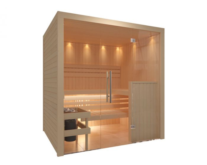 Interline Royal Sauna Set 195x156x204