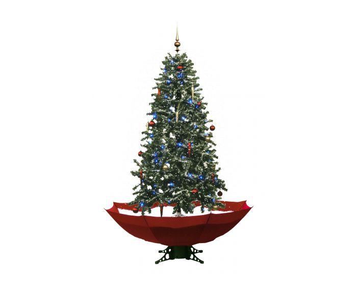 Schneiender Weihnachtsbaum Rot - 170cm