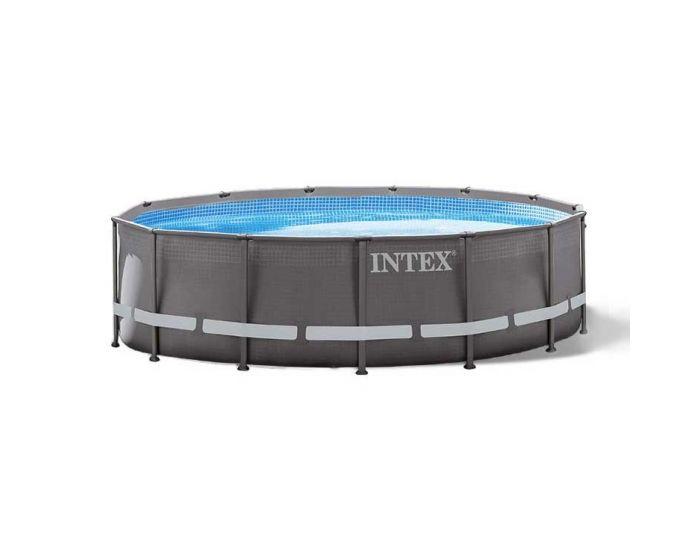 Intex Ultra Frame Pool Ø 488 x 122 cm (Set Inkl. Sandfilteranlage)