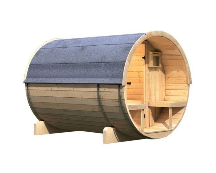 Interline Kotka 2 Sauna Set 205x273x216