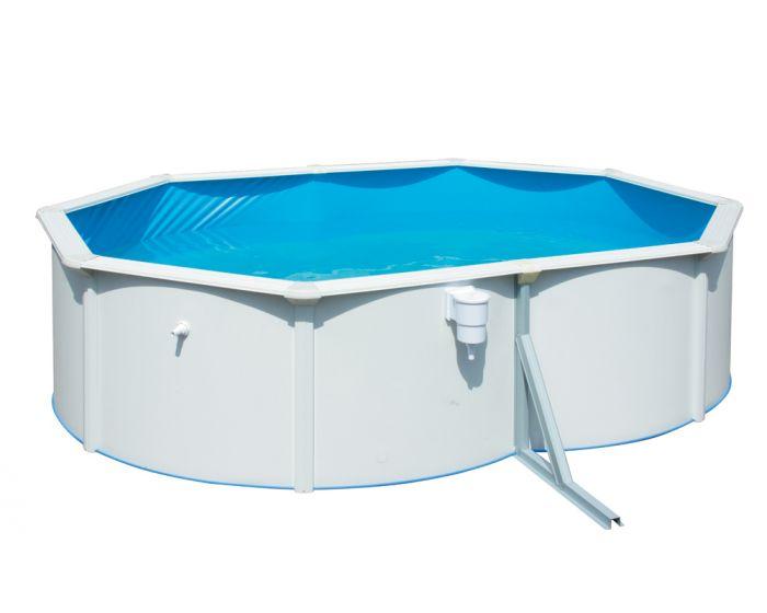 Premium pool oval 490 x 360 cm