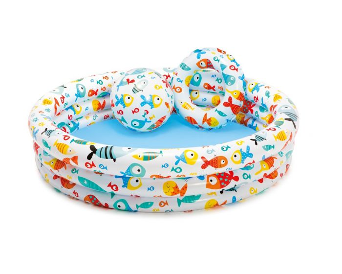 INTEX™ Kinderschwimmbad – Fishbowl Pool Set