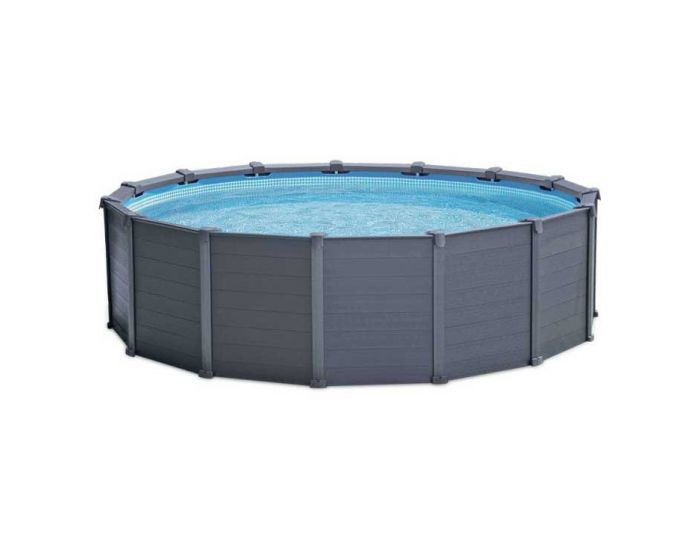 Intex Graphite Panel Pool Ø 478cm (Set)