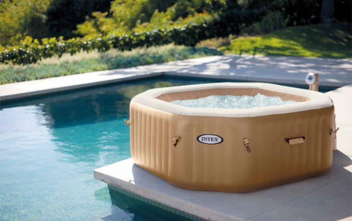 Intex Pure Spa Octagon Whirlpool für 4 Personen