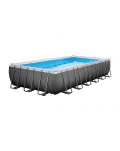Intex Ultra Quadra Frame Pool 732 x 366 x 132 cm (Set Inkl. Sandfilteranlage)