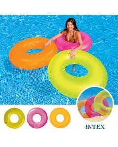 "Intex Pool-Schwimmreifen - ""Neon Tube Frost"""