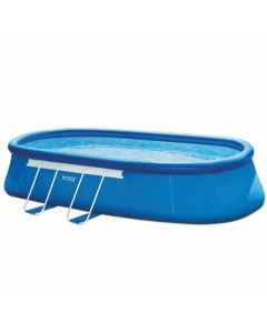 Intex Oval Frame Pool 610x366x122 (Set)