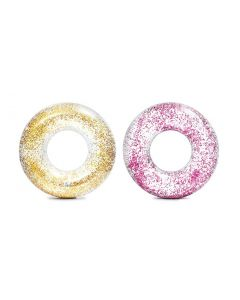 INTEX™ Schwimmreifen Transparent Glitter