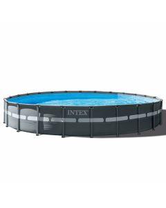Intex Ultra XTR Frame Pool Ø 732 cm x 132 cm (Set Inkl. Sandfilteranlage)