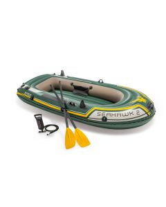 INTEX™ Aufblasboot  - Seahawk 2 Set (inkl. Paddel & Pumpe)
