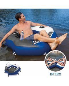 Intex Luftreifen – River Run Connect Lounge (130 x 126 cm)