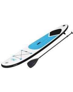 XQmax aufblasbare Stand up Paddle Board mit Zubehör (Blau)