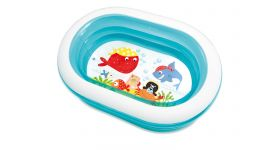 Intex kinderbecken - Oval Ahoy Pirate Friends Pool