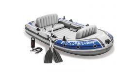 Schlauchboot Intex - Excursion 4 Set