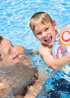 Schwimmbad beratung